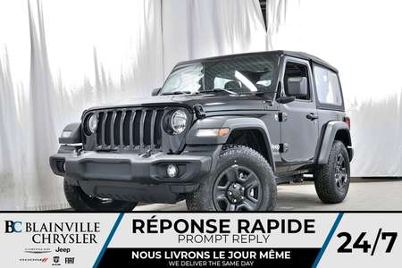 2018 Jeep Wrangler Sport for Sale  - 80367  - Desmeules Chrysler