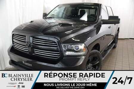 2017 Ram 1500 ALL BLACK+CREW CAB+4X4+HEMI+5,7L+ for Sale  - BC-90126A  - Blainville Chrysler