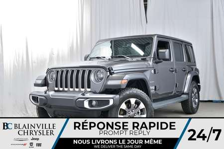 2019 Jeep Wrangler Unlimited Sahara for Sale  - 90142  - Desmeules Chrysler