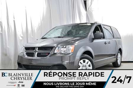 2019 Dodge Grand Caravan SE + V6 3.6L + CONTROLE CLIM TRI-ZONE + BLUETOOTH for Sale  - BC-90157  - Desmeules Chrysler