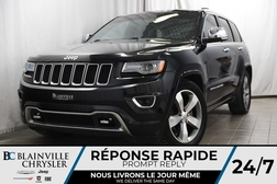 2014 Jeep Grand Cherokee 104$/SEM + OVERLAND + V6 3.6L + CUIR + TOIT PANO  - BC-90177B  - Desmeules Chrysler