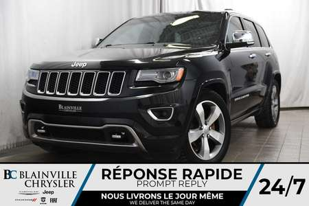 2014 Jeep Grand Cherokee 104$/SEM + OVERLAND + V6 3.6L + CUIR + TOIT PANO for Sale  - BC-90177B  - Desmeules Chrysler