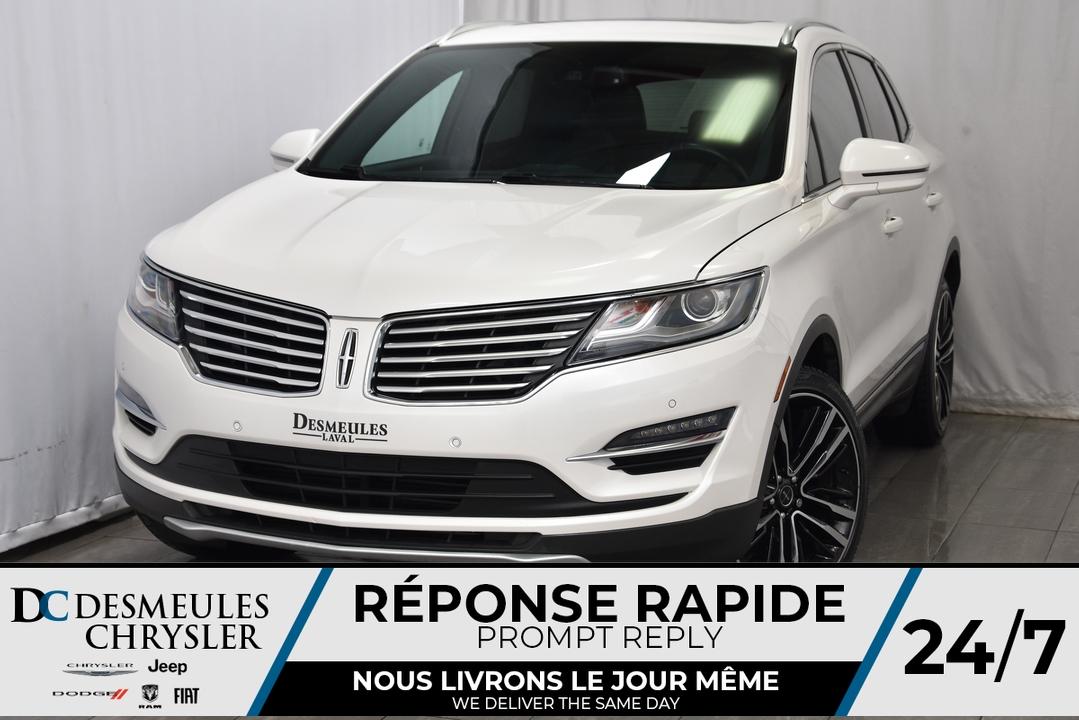 2017 Lincoln MKC  - Desmeules Chrysler
