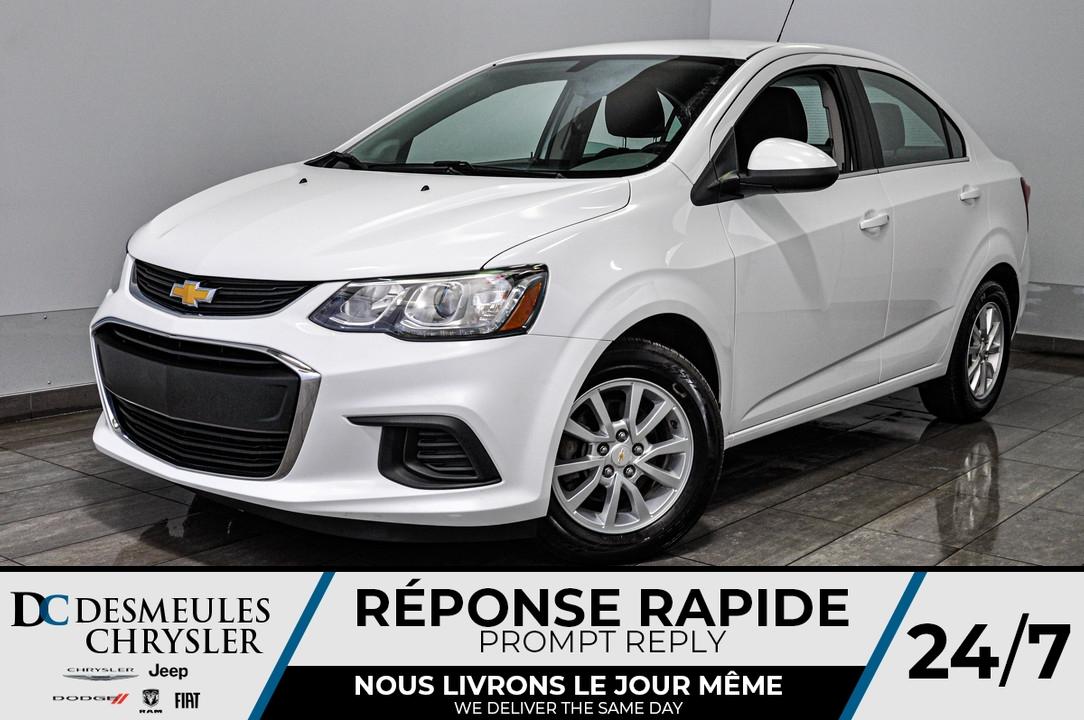 2018 Chevrolet Sonic  - Desmeules Chrysler