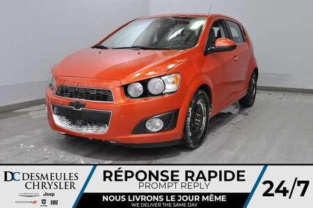 2012 Chevrolet Sonic LT + a/c + bancs chauff + toit ouv  *LIQUIDATION* for Sale  - DC-D1774A  - Blainville Chrysler