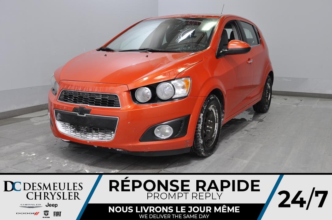 2012 Chevrolet Sonic  - Desmeules Chrysler