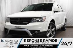 2017 Dodge Journey 75$/SEM + CROSSROAD + 3.6L V6 + CUIR + 1 PROPRIO  - BC-P1185  - Desmeules Chrysler