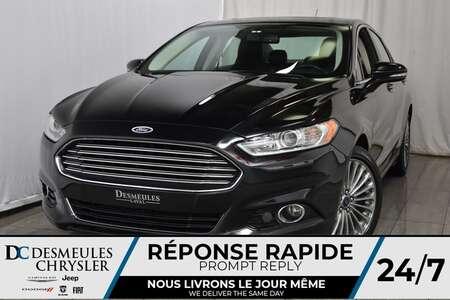 2016 Ford Fusion Titanium * AWD * Toit Ouvr. * Cam. Rec. * NAV for Sale  - DC-A0985  - Blainville Chrysler