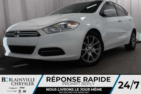 2013 Dodge Dart SXT + MAGS + VITRE TEINTER + A/C + CRUISE for Sale  - BC-P1322  - Blainville Chrysler