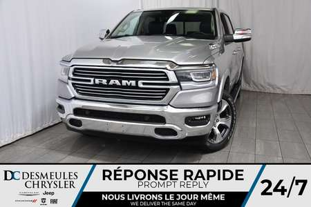 2019 Ram 1500 Laramie Crew Cab for Sale  - DC-90031  - Desmeules Chrysler