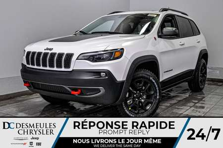 2020 Jeep Cherokee Trailhawk Elite + WIFI + BANCS CHAUFF *131$/SEM for Sale  - DC-20351  - Desmeules Chrysler