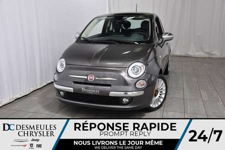 2017 Fiat 500 Lounge for Sale  - DC-71471  - Blainville Chrysler