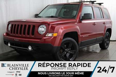 2012 Jeep Patriot LIMITED + MAGS + 4WD + NAV + BLUETOOTH + CLIM for Sale  - BC-P1365A  - Desmeules Chrysler