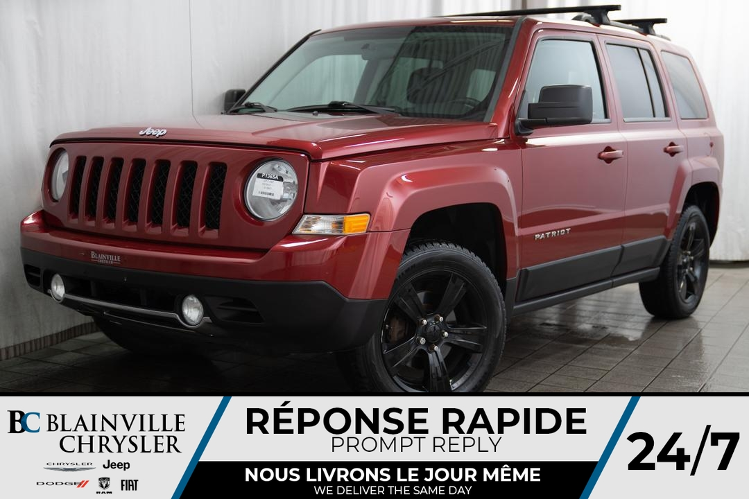 2012 Jeep Patriot  - Desmeules Chrysler