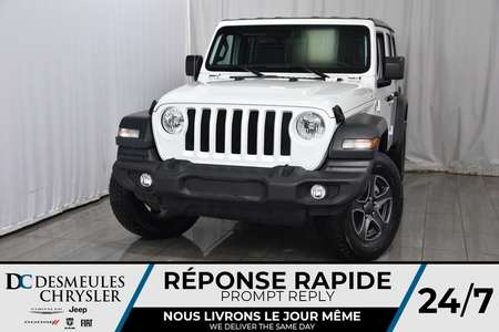 2018 Jeep Wrangler Unlimited Sport S for Sale  - DC-80540  - Desmeules Chrysler