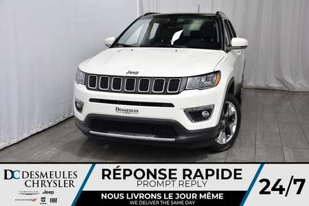 2018 Jeep Compass Limited - 97$/SEM - Apple Carplay - Tow Pack *WOW for Sale  - DC-81155  - Desmeules Chrysler