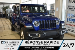 2018 Jeep Wrangler Unlimited Sahara  - DC-81260  - Blainville Chrysler