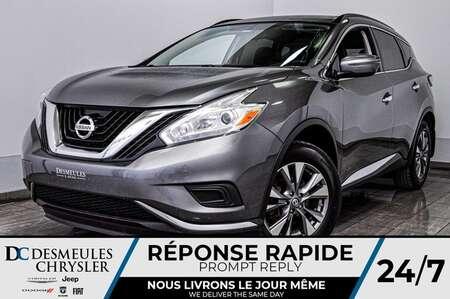 2017 Nissan Murano S *A/C *Bancs chauff *Cam de recul *GSP for Sale  - DC-D1688  - Desmeules Chrysler