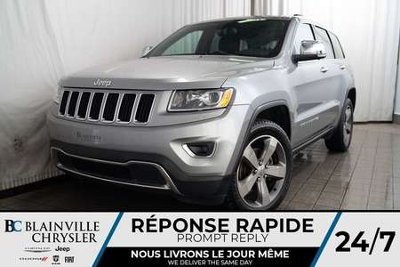 2015 Jeep Grand Cherokee LIMITED * MAGS * 4X4 * BLUTOOTH * NAV for Sale  - BC-P1401A  - Desmeules Chrysler