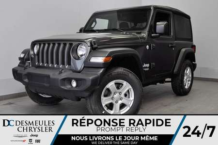 2020 Jeep Wrangler Sport S + BLUETOOTH *126$/SEM for Sale  - DC-20038  - Desmeules Chrysler