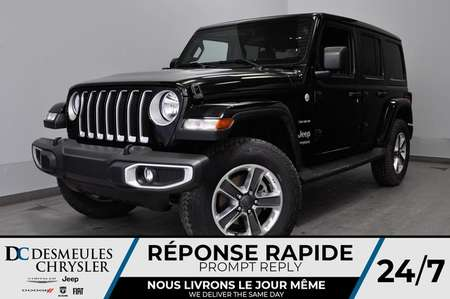 2020 Jeep Wrangler Unlimited Sahara + BLUETOOTH *148$/SEM for Sale  - DC-20046  - Desmeules Chrysler