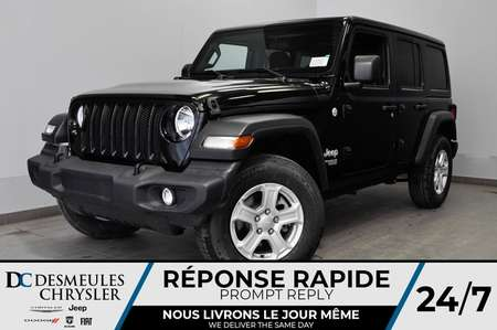 2019 Jeep Wrangler Unlimited Sport S + BLUETOOTH *139$/SEM for Sale  - DC-91013  - Desmeules Chrysler