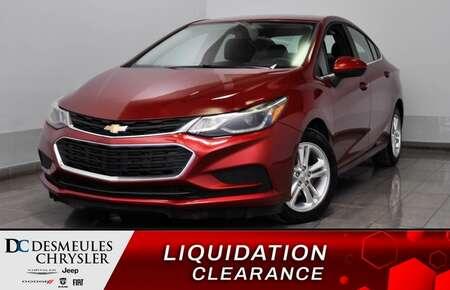 2018 Chevrolet Cruze LT *Cam de recul * A/C *Toit Ouvrant* 50$/SEM*WOOW for Sale  - DC-D1624  - Desmeules Chrysler