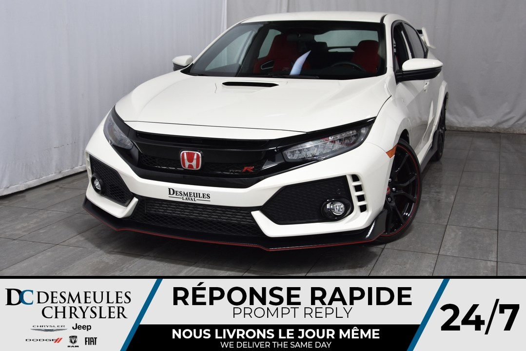2018 Honda Civic Type R  - Desmeules Chrysler