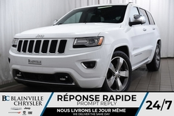 2015 Jeep Grand Cherokee 112$/SEM + OVERLAND + V6 3.0L DIESEL + CUIR + MAGS  - BC-P1190  - Desmeules Chrysler