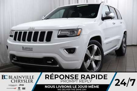 2015 Jeep Grand Cherokee 112$/SEM + OVERLAND + V6 3.0L DIESEL + CUIR + MAGS for Sale  - BC-P1190  - Desmeules Chrysler