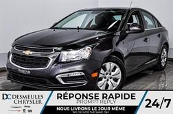 2015 Chevrolet Cruze LT *Cam de recul *A/C *Comm au volant  - DC-D1676  - Desmeules Chrysler
