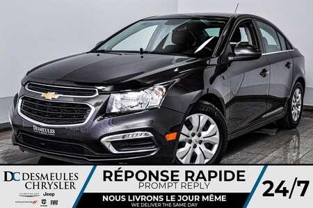 2015 Chevrolet Cruze LT *Cam de recul *A/C *Comm au volant for Sale  - DC-D1676  - Desmeules Chrysler