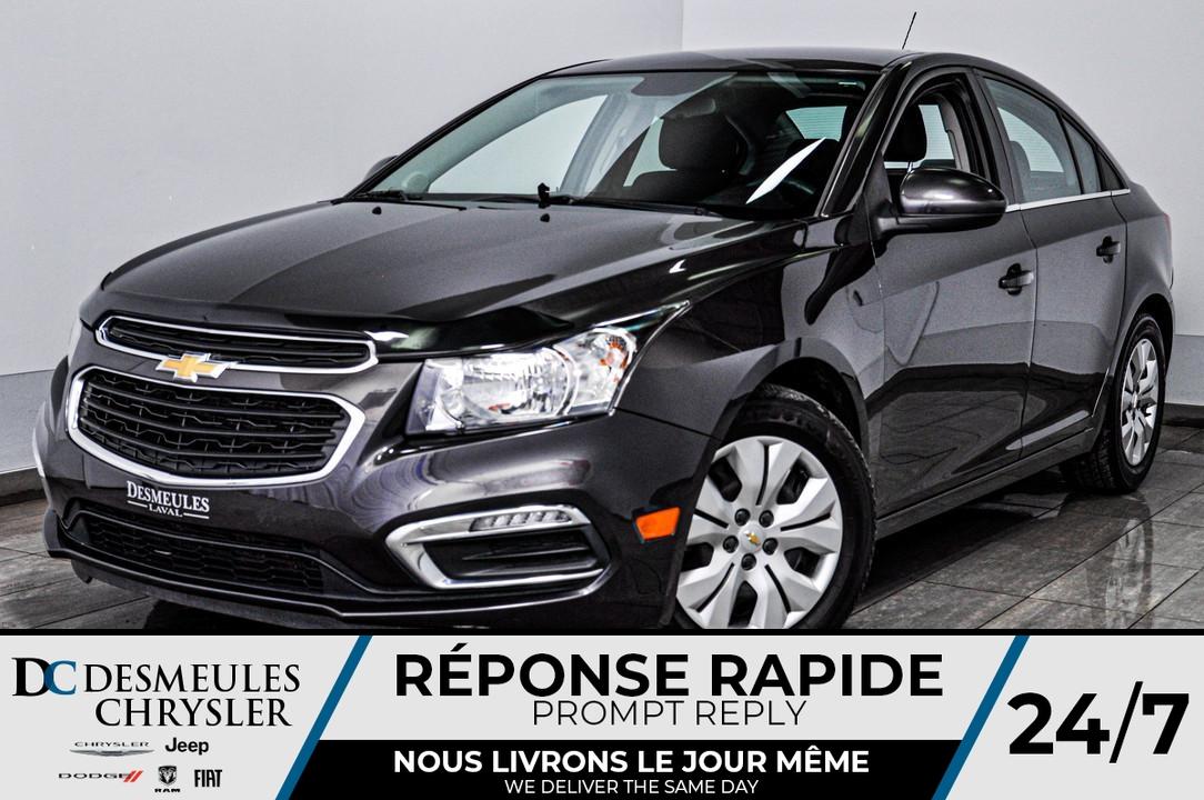 2015 Chevrolet Cruze  - Desmeules Chrysler