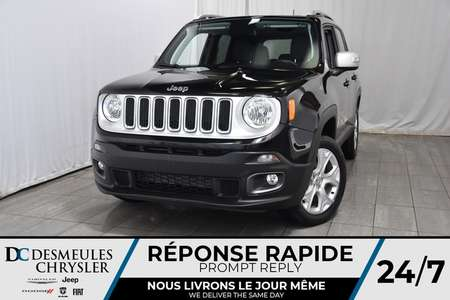 2018 Jeep Renegade Limited * Toit Ouvr Freedom Top * Cam Rec * GPS for Sale  - DC-M1196  - Desmeules Chrysler