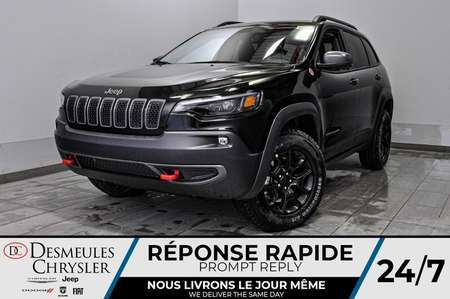 2020 Jeep Cherokee Trailhawk Elite + UCONNECT + BANCS CHAUFF*120$/SEM for Sale  - DC-20375  - Desmeules Chrysler