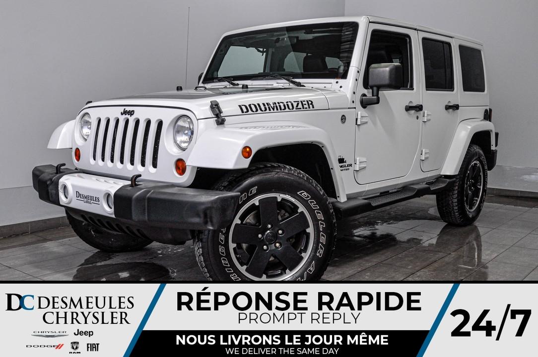2012 Jeep Wrangler  - Desmeules Chrysler