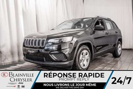 2019 Jeep Cherokee Sport * CAM RECUL * BLUETOOTH * A/C * for Sale  - BC-20190A  - Blainville Chrysler
