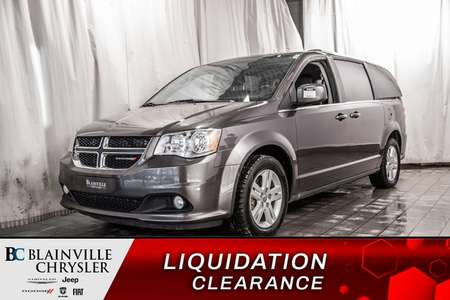 2018 Dodge Grand Caravan CREW PLUS * CUIR * TRI-ZONE * CAMERA DE RECUL * for Sale  - P1513  - Blainville Chrysler