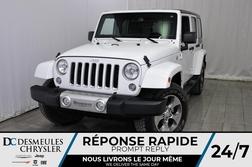 2018 Jeep Wrangler JK Unlimited Sahara * NAVIGATION * Toit Ouvr Freedom Top  - DC-M1304  - Desmeules Chrysler