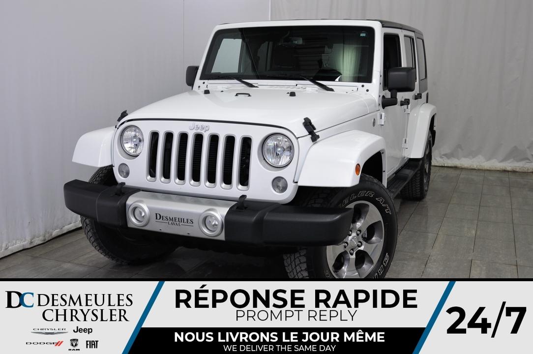 2018 Jeep Wrangler JK Unlimited  - Desmeules Chrysler