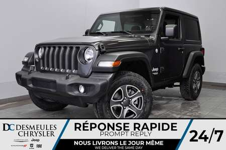 2020 Jeep Wrangler Sport S + BLUETOOTH *128$/SEM for Sale  - DC-20090  - Desmeules Chrysler