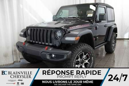 2020 Jeep Wrangler Rubicon for Sale  - BC-20039  - Desmeules Chrysler