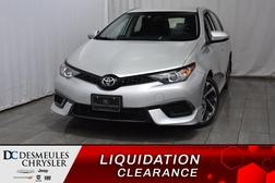 2018 Toyota Corolla iM * A/C. *Cam. de recul * Siège chuaff  - DC-M1183  - Desmeules Chrysler