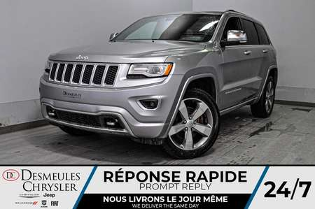 2016 Jeep Grand Cherokee Overland *A/C *Cam de recul * GPS * Toit pano for Sale  - DC-M1329  - Blainville Chrysler