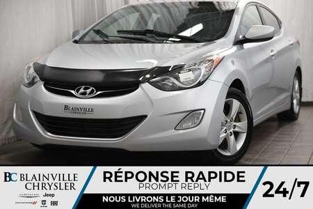 2012 Hyundai Elantra 36$/SEM + GLS + MANUELLE + MAGS + TOIT + CLIMAT for Sale  - BC-90229A  - Blainville Chrysler
