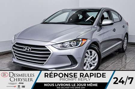 2017 Hyundai Elantra SE *A/C *Mode ECO *Bancs chauff for Sale  - DC-D1697  - Blainville Chrysler