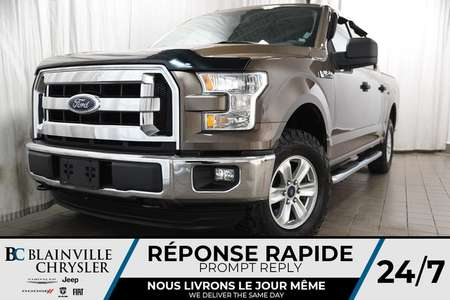 2015 Ford F-150 108$/SEM + XLT SUPERCREW + V6 3.5L + 4X4 + MAGS for Sale  - BC-P1203  - Desmeules Chrysler