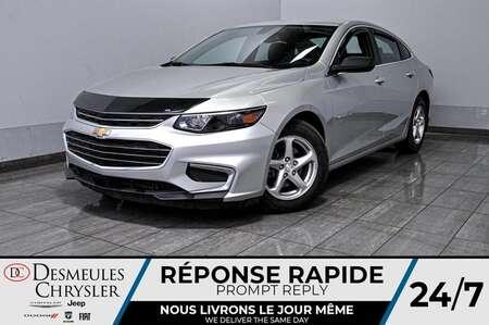 2017 Chevrolet Malibu LS * Cam Rec * Bout Démarrage * 73$/Semaine for Sale  - DC-A1395  - Desmeules Chrysler