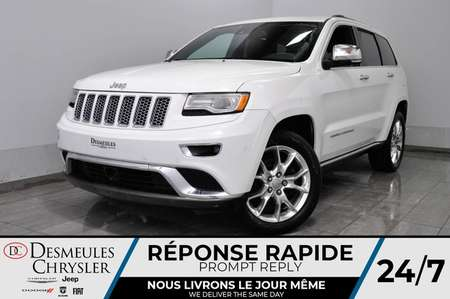 2016 Jeep Grand Cherokee Summit * Toit Ouvr Pano * Cam Rec * 161$/Semaine for Sale  - DC-A1438  - Desmeules Chrysler