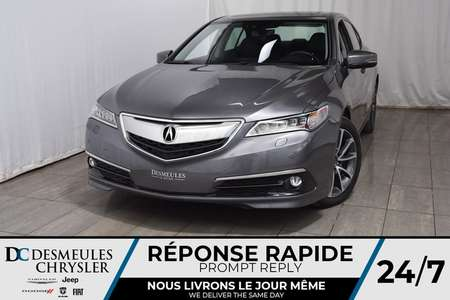 2017 Acura TLX V6 Advance Pkg * Cam Rec * NAV * Toit Ouvr for Sale  - DC-A1315  - Blainville Chrysler